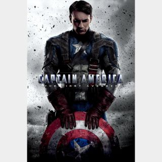 Captain America: Three Film Collection / HD / Movies Anywhere
