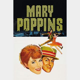 Mary Poppins / HD / Movies Anywhere / iTunes / VUDU - HDX