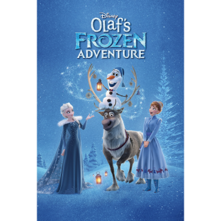 Olaf's Frozen Adventure / MA / HD / No DMR