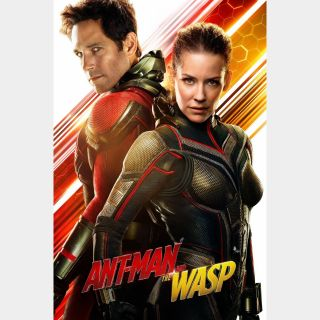 Ant-Man and the Wasp / HD / Movies Anywhere / iTunes / VUDU