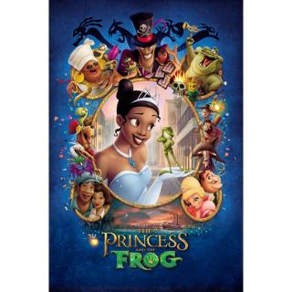 The Princess and the Frog / 4K UHD / Movies Anywhere / VUDU