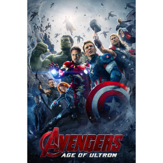Avengers: Age of Ultron -- UHD 4K on MA - Code Not Split - DMR Points NOT Included
