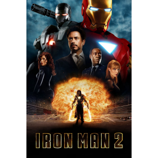 Iron Man 2 / 4K UHD / Movies Anywhere / VUDU