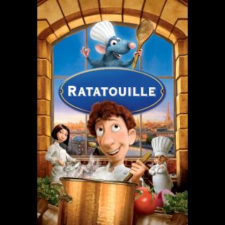 Ratatouille / 4K UHD / Movies Anywhere / VUDU