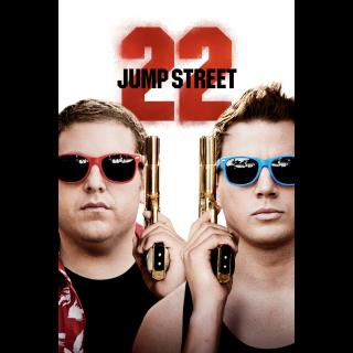 22 Jump Street / 4K UHD / MoviesAnywhere