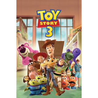 Toy Story 3 / HD / Movies Anywhere / VUDU