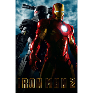 Iron Man 2 -- HD on MA - Code Not Split - DMR Points NOT Included