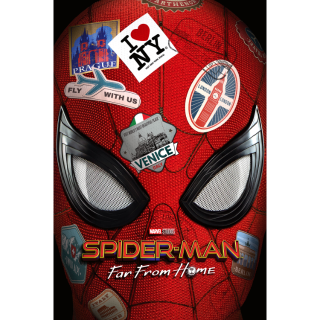 Spider-Man: Far from Home - Homecoming - Into the Spider Verse - Venom / All 4 Films / HD / MA / Vudu