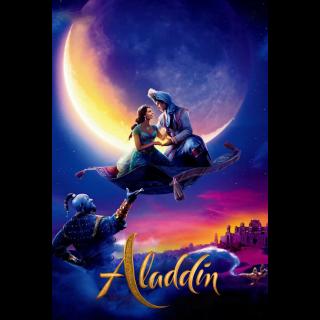 Aladdin (2019) / MA / 4K UHD / NOT Split / No DMR