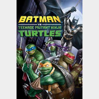 Batman vs. Teenage Mutant Ninja Turtles / HD / Movies Anywhere