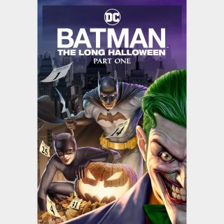 Batman: The Long Halloween, Part One / HD / Movies Anywhere