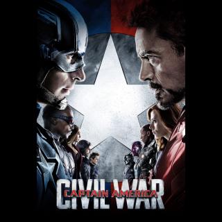 Captain America: Civil War / 4K UHD / Movies Anywhere / VUDU