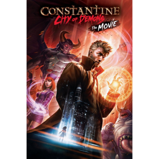 Constantine: City of Demons - The Movie / 4K UHD / MoviesAnywhere