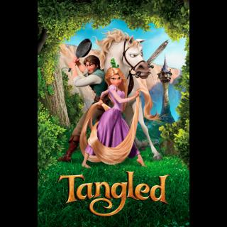 Tangled / 4K UHD / Movies Anywhere / VUDU