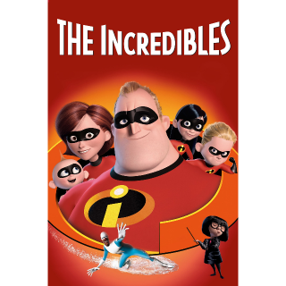 The Incredibles / 4K UHD / Movies Anywhere / iTunes / VUDU