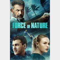 Force of Nature / HD / Vudu - movieredeem.com