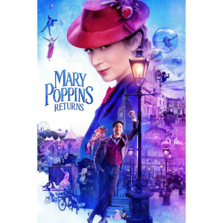 Mary Poppins Returns / HDX / MA / No DMR