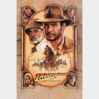 Indiana Jones and the Last Crusade / 4K UHD on iTunes / HD on Vudu & Fandango Now via paramountdigitalcopy.com