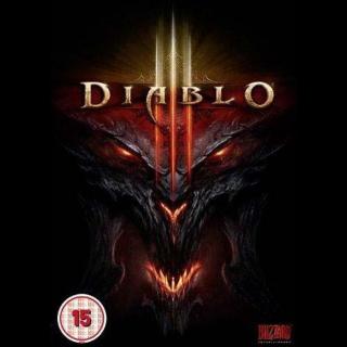 Diablo III 3 [ PC, Mac / Battle.net ] [ Full Game Key ] [ Region: Global ] [ Instant Delivery ]