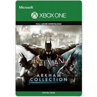 Batman: Arkham Collection [Microsoft Xbox One] [Full Game Key + DLC] [Region: U.S.] [Instant Delivery]