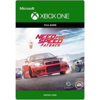 Need for Speed Payback [ Microsoft Xbox One ] [ Full Game Key ] [ Region: U.S. ] [ Instant Delivery ]