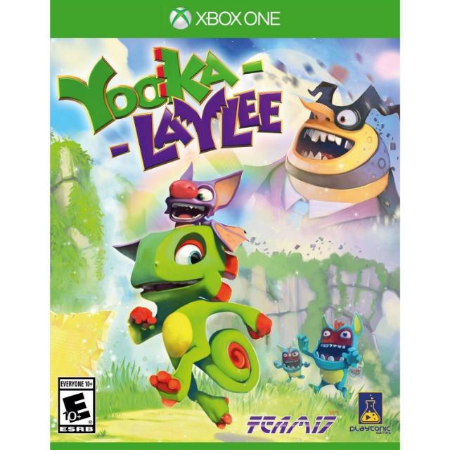 Yooka-Laylee [ Microsoft Xbox One ] [ Full Game Key ] [ Region: U.S. ] [ Instant Delivery ]