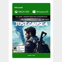 Just Cause 4: Reloaded [Microsoft Xbox One] [Full Game Key] [Region: U.S.] [Instant Delivery]