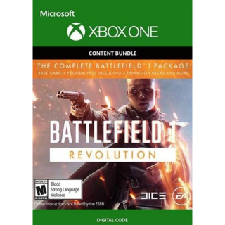 Battlefield 1 Revolution + Battlefield 1943 Bundle (Microsoft Xbox One, 2017) Full Game Digital Download Key - Instant Delivery