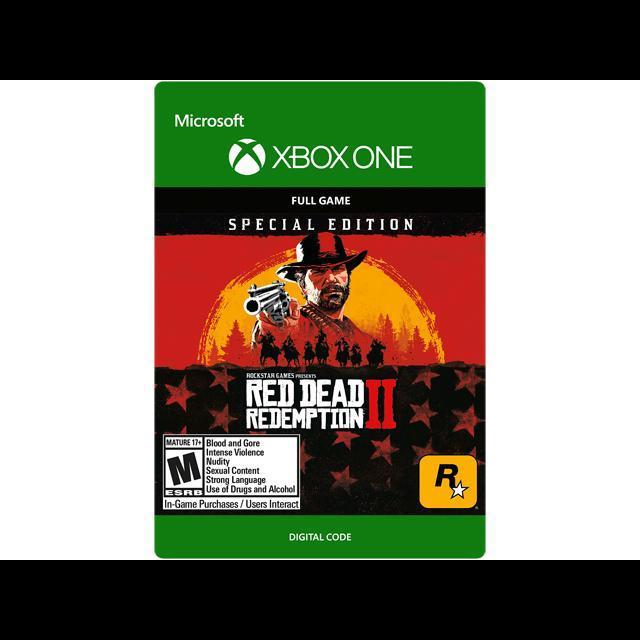 Red Dead Redemption 2 Special Edition Microsoft Xbox One Full Game Key Region U S I Gameflip