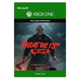 Friday the 13th: The Game [ Microsoft Xbox One ] [ Full Game Key ] [ Region: U.S. ] [ Instant Delivery ]