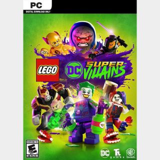 Lego DC Super-Villains [PC / Steam] [Full Game Key] [Region: Global] [Instant Delivery]
