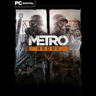 Metro Redux Bundle [ PC, Mac, Linux / Steam ] [ Full Game Key ] [ Region: Global ] [ Instant Delivery ]