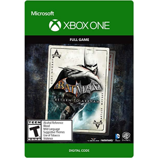 Batman: Return to Arkham [ Microsoft Xbox One ] [ Full Game Key ] [ Region: U.S. ] [ Instant Delivery ]