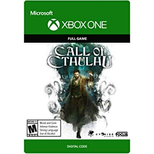 Call of Cthulhu [Microsoft Xbox One] [Full Game Key] [Region: U.S.] [Instant Delivery]