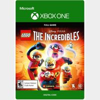 LEGO The Incredibles [Microsoft Xbox One] [Full Game Key] [Region: U.S.] [Instant Delivery]
