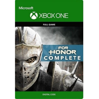 For Honor Complete Edition [Microsoft Xbox One] [Full Game Key] [Region: U.S.] [Instant Delivery]