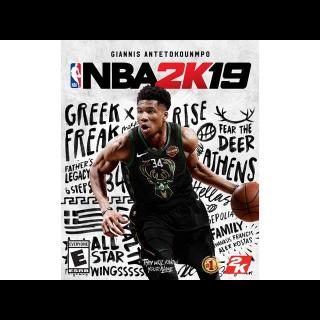 NBA 2K19 [ PC / Steam ] [ Full Game Key ] [ Region: U.S. ] [ Instant Delivery ]