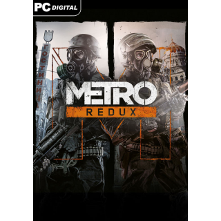 Metro Redux Bundle [ PC, Mac, Linux / Steam ] [ Full Game Key ] [ Region: Global ] [ Instant Delivery ]
