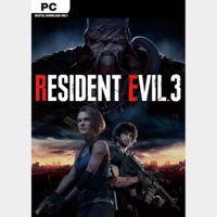 RESIDENT EVIL 3 [PC / Steam] [Full Game Key] [Region: Global] [Instant Delivery]
