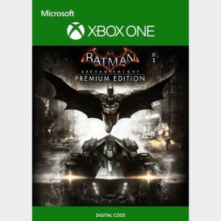 Batman: Arkham Knight Premium Edition [Microsoft Xbox One, X S] [Full Game Key + DLC] [Region: U.S.] [Instant Delivery]