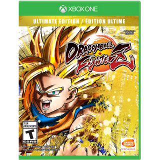 DRAGON BALL FIGHTERZ - Ultimate Edition [Microsoft Xbox One] [Full Game Key + DLC] [Region: U.S.] [Instant Delivery]