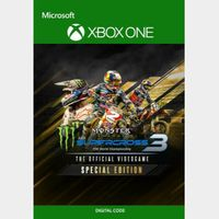 Monster Energy Supercross 3 - Special Edition [Microsoft Xbox One] [Full Game Key + DLC] [Region: U.S.] [Instant Delivery]