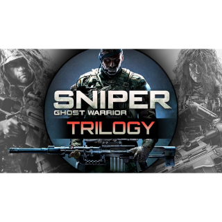 Sniper: Ghost Warrior Trilogy [ PC / Steam ] [ Full Game Key ] [ Region: U.S. ] [ Instant Delivery ]