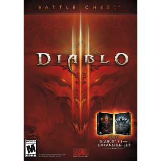 Diablo III 3 Battle Chest Edition [ PC / Battle.net ] [ Full Game Key ] [ Region: U.S. ] [ Instant Delivery ]