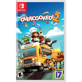 Overcooked! 2 [ Nintendo Switch ] [ Full Game Key ] [ Region: U.S. ] [ Instant Delivery ]