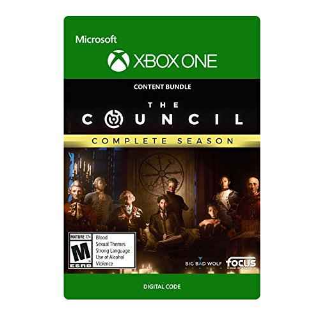 The Council: Complete Season [ Microsoft Xbox One ] [ Full Game Key ] [ Region: U.S. ] [ Instant Delivery ]