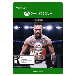 EA SPORTS UFC 3 [ Microsoft Xbox One ] [ Full Game Key ] [ Region: U.S. ] [ Instant Delivery ]