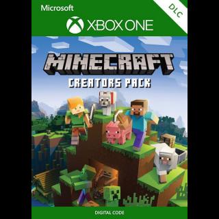Minecraft Creators Pack [Microsoft Xbox One] [DLC Key] [Region: Global] [Instant Delivery]