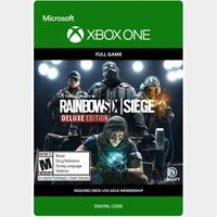 Tom Clancy's Rainbow Six Siege Deluxe Edition [Microsoft Xbox One] [Full Game Key] [Region: U.S.] [Instant Delivery]