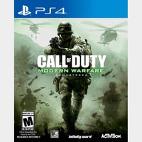 Call of Duty (COD) Modern Warfare Remastered [Sony PlayStation 4 / PS4] [Full Game Key] [Region: U.S.] [Instant Delivery]